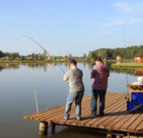 Рыбалка в пагубино