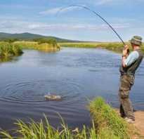 Рыбалка на реке быковка