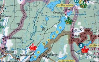 Озеро спортивное вымно карта глубин