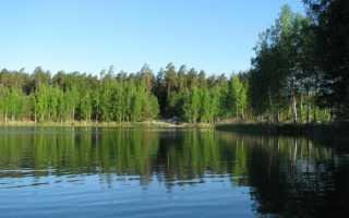 Рыбалка на голубых озерах