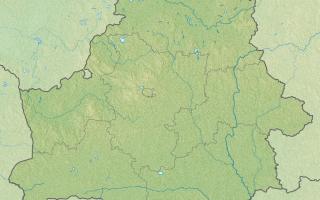 Озеро городно витебский район
