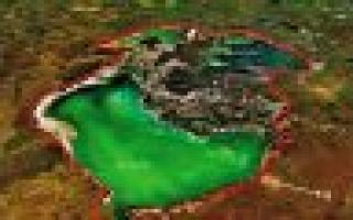 Карта кургальджинского заповедника