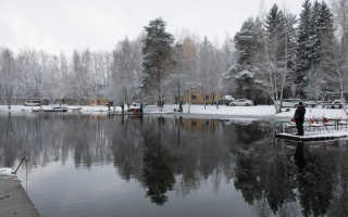 Рыбалка в заречье московской области