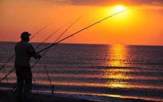 Рыбалка в угловом крым