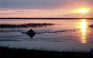 Озеро атяж курганская область