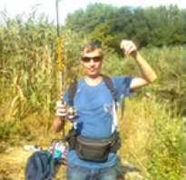 Рыбалка в кружиловке