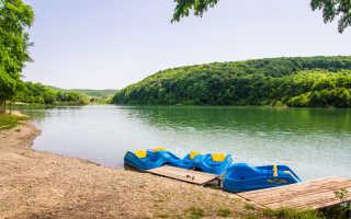 Новокрымское озеро краснодарский край