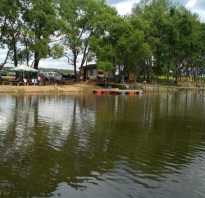Рыбалка в петрово