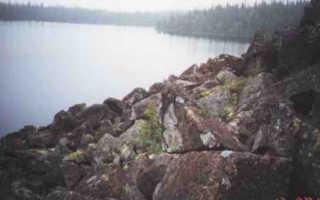 Озеро каменное рыбалка
