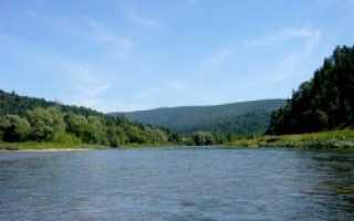 Река сим рыбалка